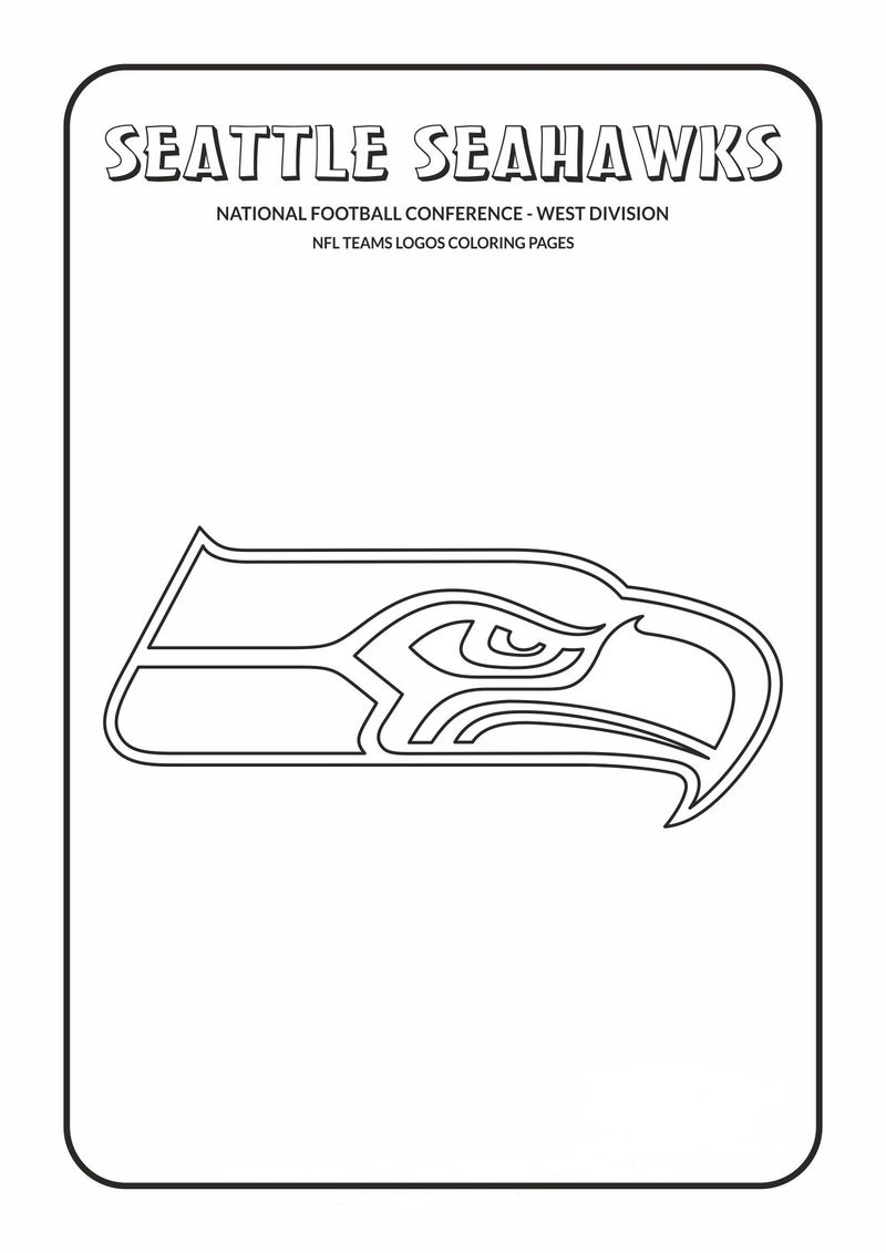 seattle seahawks color pages seattle seahawks coloring pages banner k5 worksheets pages seahawks seattle color