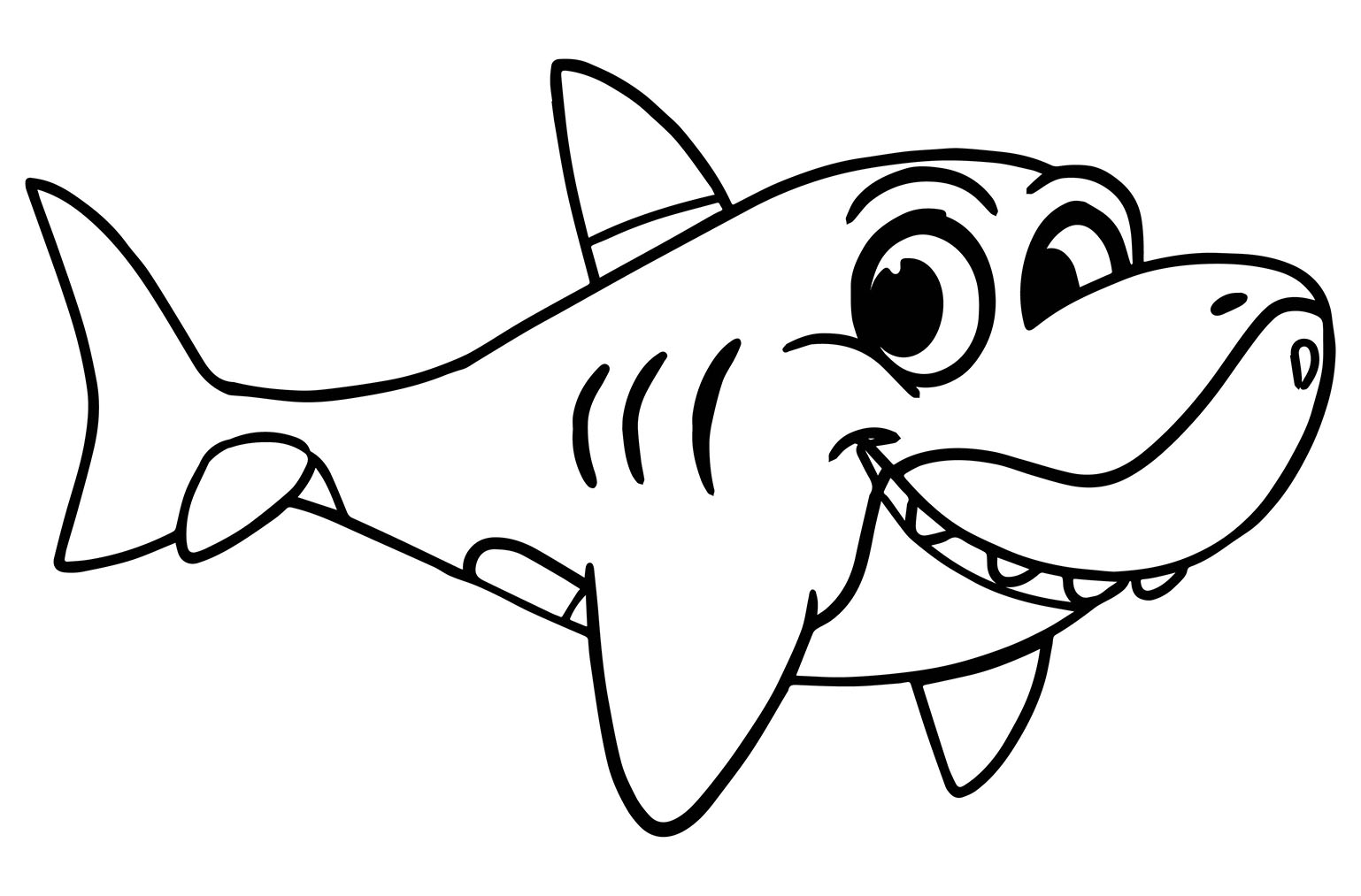 shark colour in free printable shark coloring pages for kids colour in shark