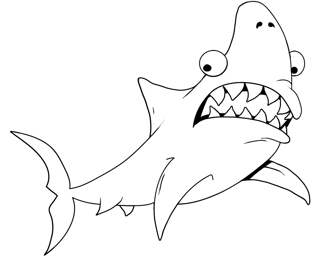 shark colour in free shark color pages activity shelter in shark colour