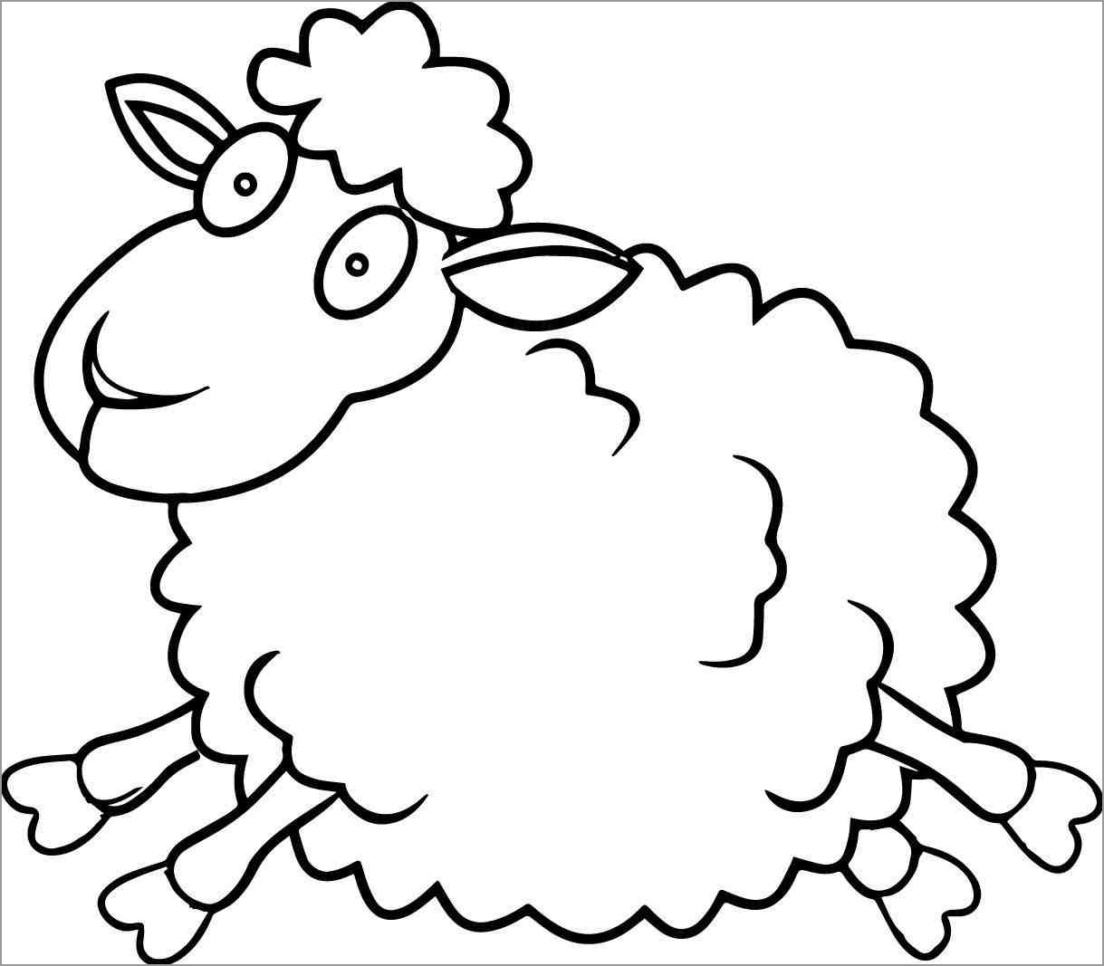 sheep for coloring free printable sheep coloring pages for kids for coloring sheep