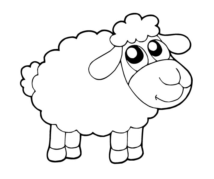 sheep for coloring free printable sheep coloring pages for kids sheep coloring for