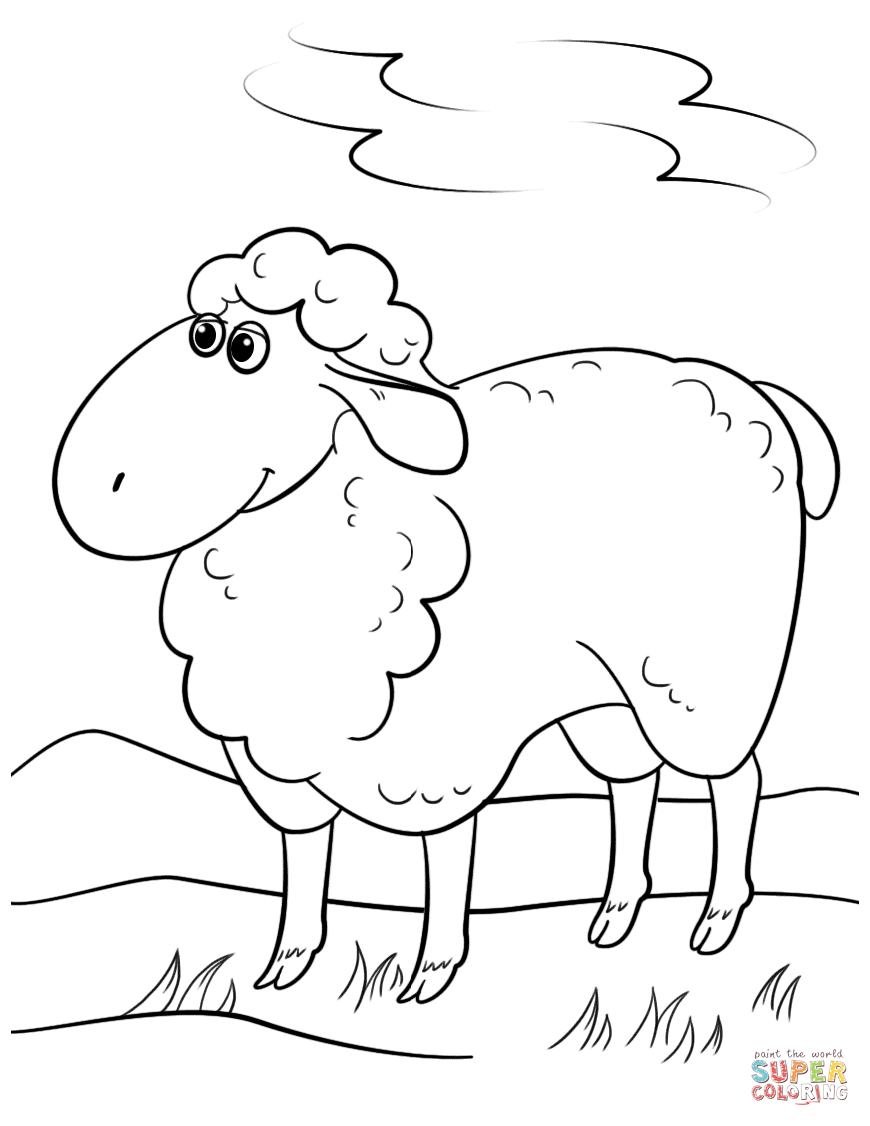 sheep for coloring get this sheep coloring pages to print bgt31 for coloring sheep