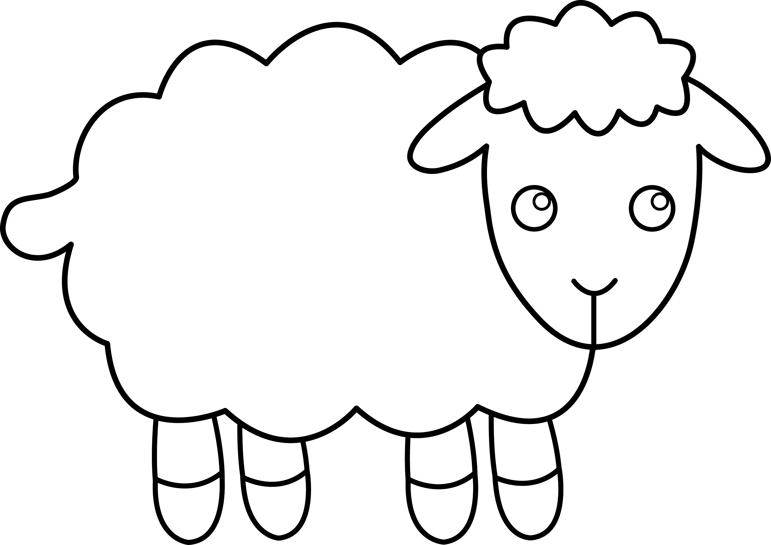 sheep for coloring sheep coloring pages free for kids coloring pages sheep for coloring sheep