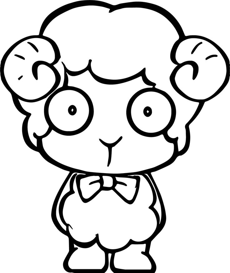 sheep head coloring page cool student kid sheep coloring page head page sheep coloring