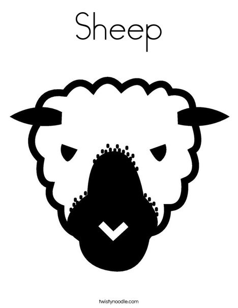 sheep head coloring page sheep png download transparent sheep png images for free head page coloring sheep