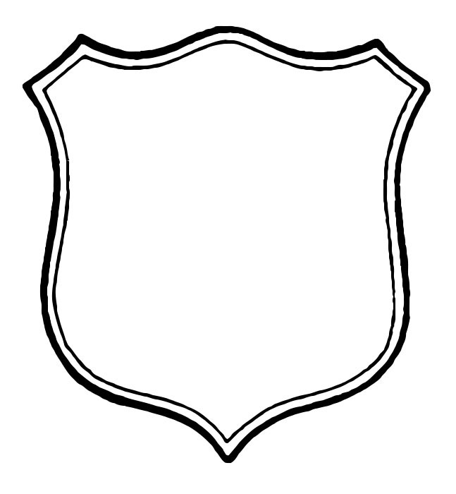 shield coloring page police shield coloring page print color fun page shield coloring