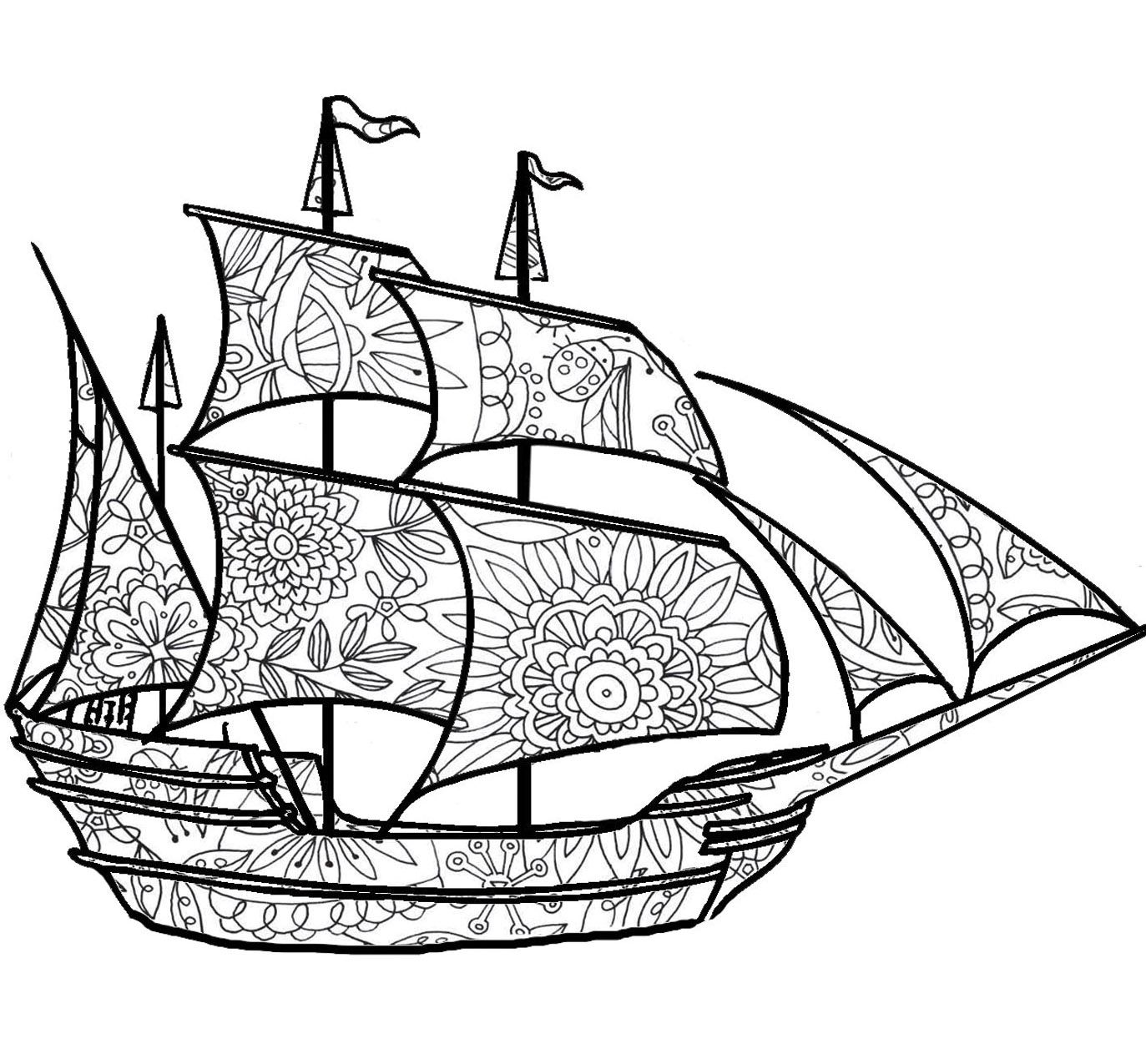 ship coloring pages adult coloring pages ship 3 adult coloring coloring pages coloring ship
