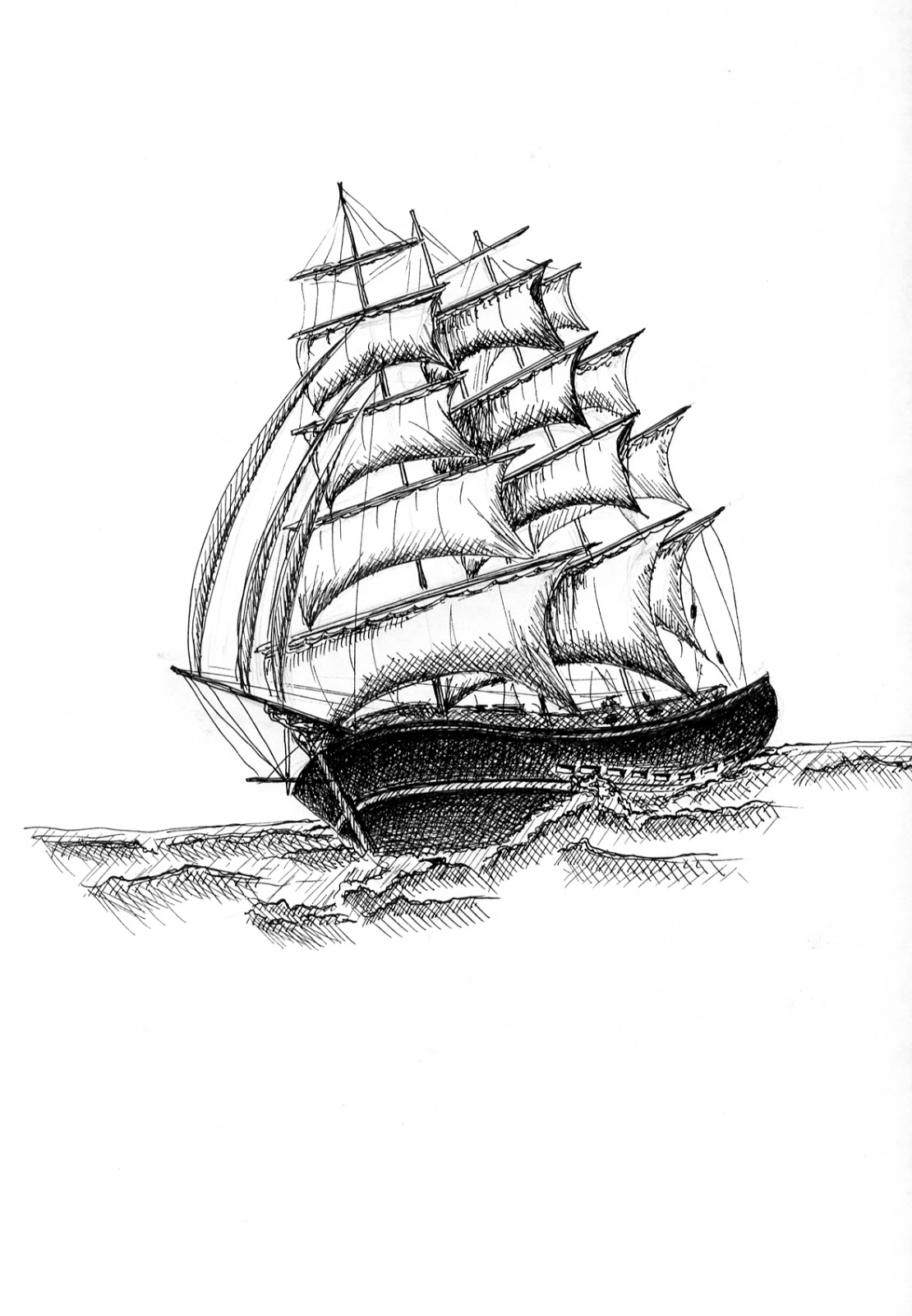 ship drawing pirate ship pencil drawing free download on clipartmag ship drawing