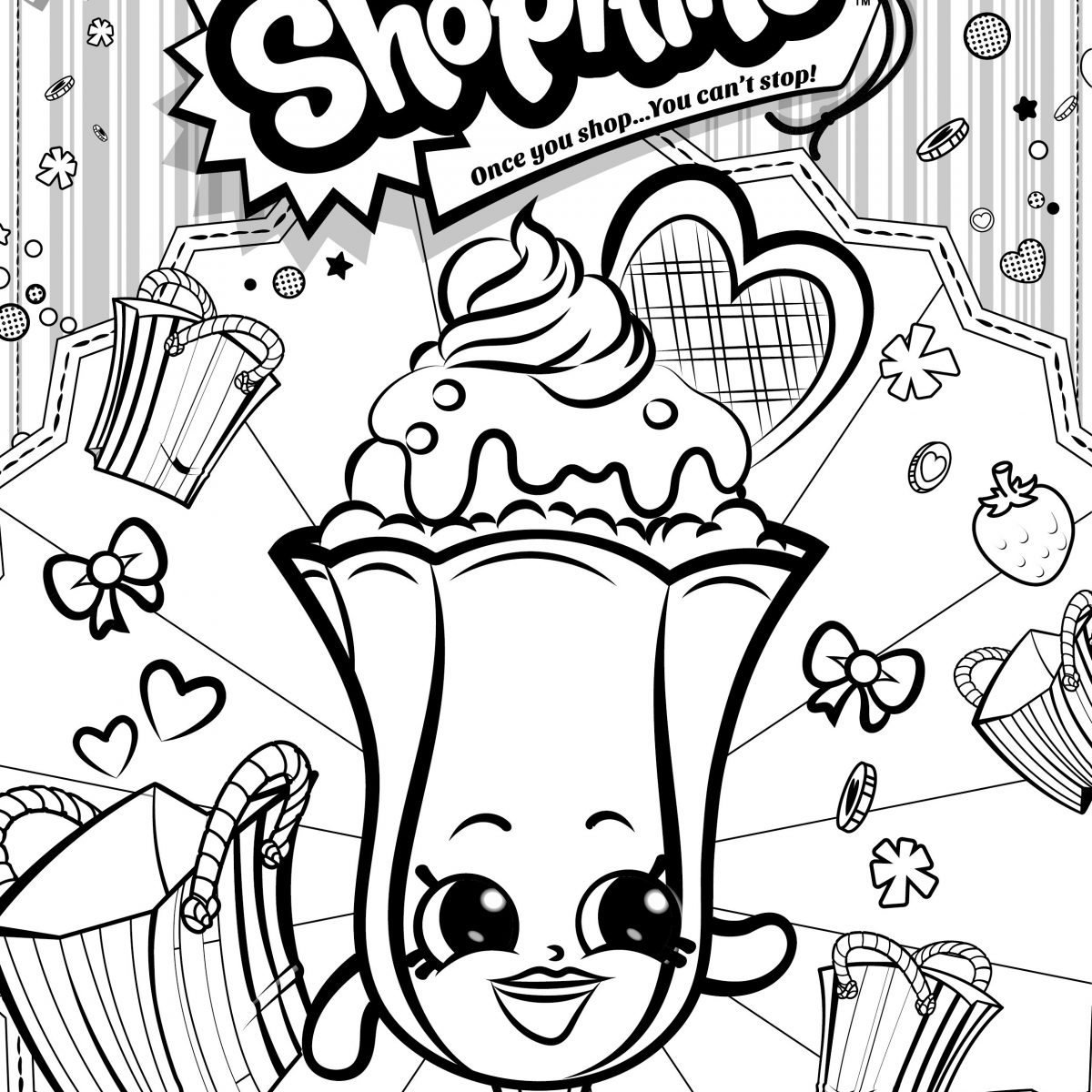 shopkins print out shopkins characters coloring pages at getdrawings free print out shopkins