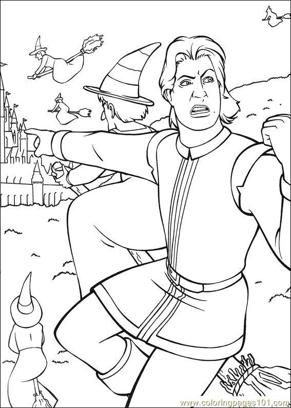 shrek coloring pages free coloring pages shrek 3 30 cartoons gt shrek the third pages shrek free coloring