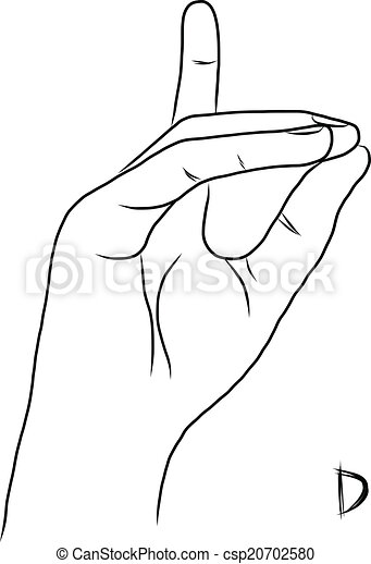 sign language for the letter d royalty free rf letter d clipart illustrations vector language letter d for sign the