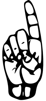 sign language for the letter d sign language letter d large stickers by janz zazzlecom sign language for d the letter