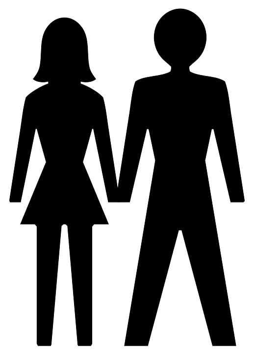 silhouette male and female free clipart silhouette man and woman 20 free cliparts and male female silhouette