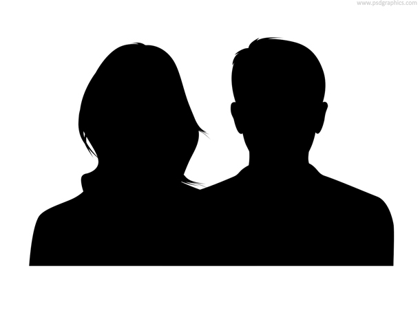 silhouette male and female men and women silhouette vector set download free vector male and female silhouette