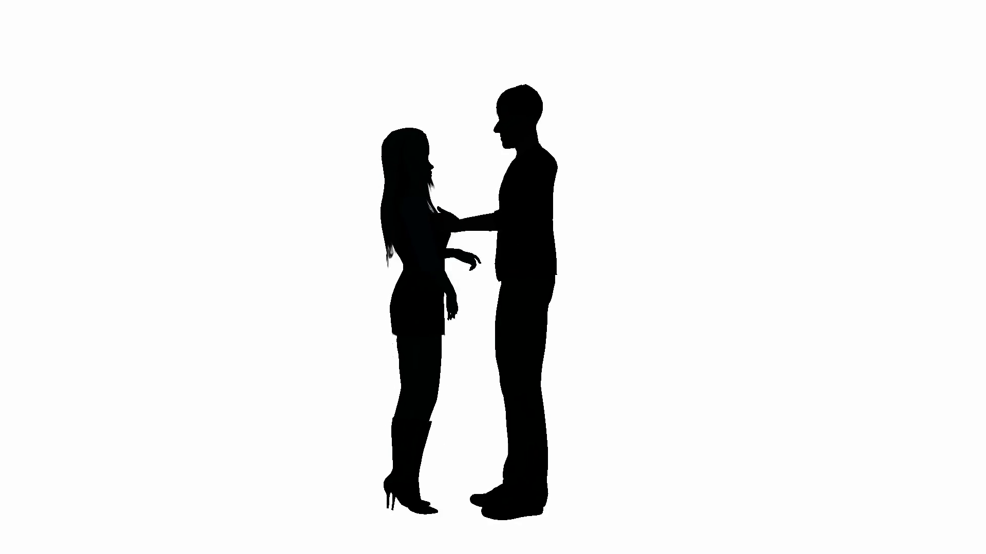 silhouette male and female silhouette male and female double agent lifesize cardboard and male female silhouette