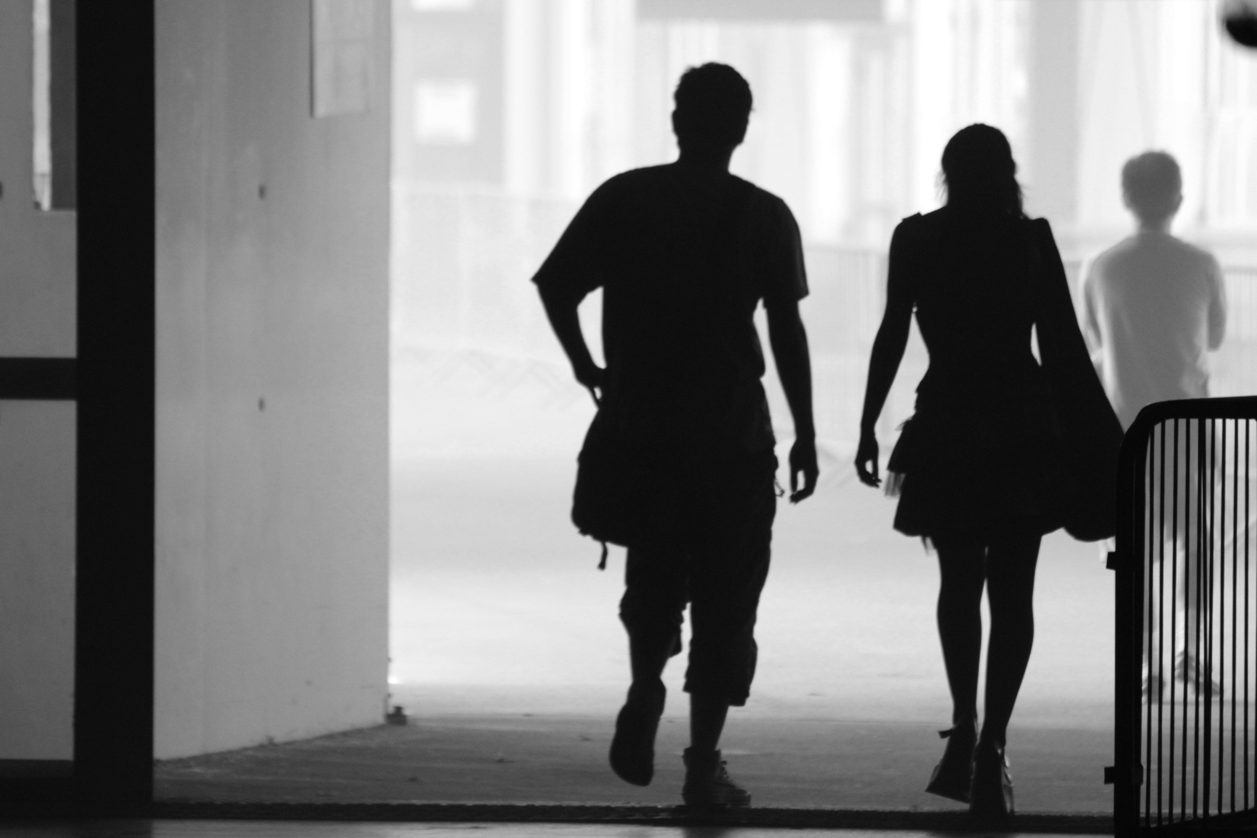 silhouette male and female silhouette men and women at getdrawings free download male and female silhouette