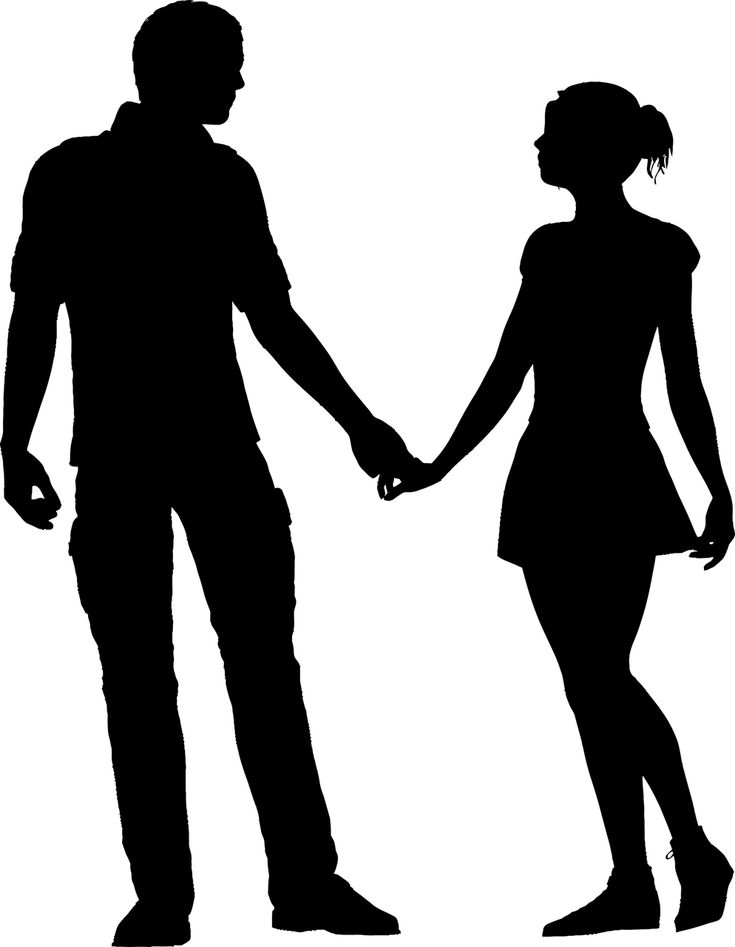 silhouette male and female the implications of male and female brain differences a and silhouette male female