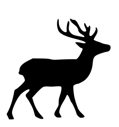 silhouette of a buck body buck deer silhouette transparent background clipart silhouette of buck a