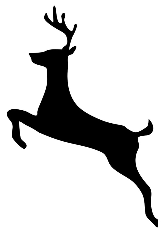 silhouette of a buck buck silhouette outline at getdrawings free download silhouette a of buck