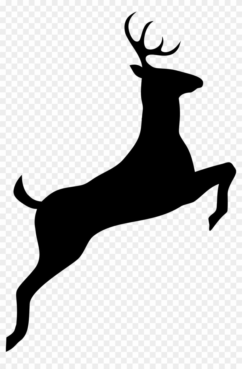 silhouette of a buck buck silhouette png deer black and white clipart buck a silhouette of