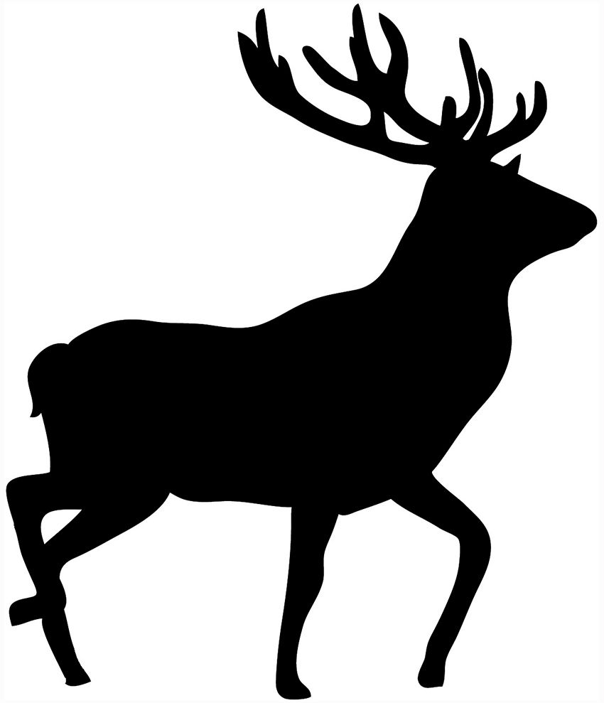 silhouette of a buck whitetail buck silhouette clipart 10 free cliparts buck a silhouette of