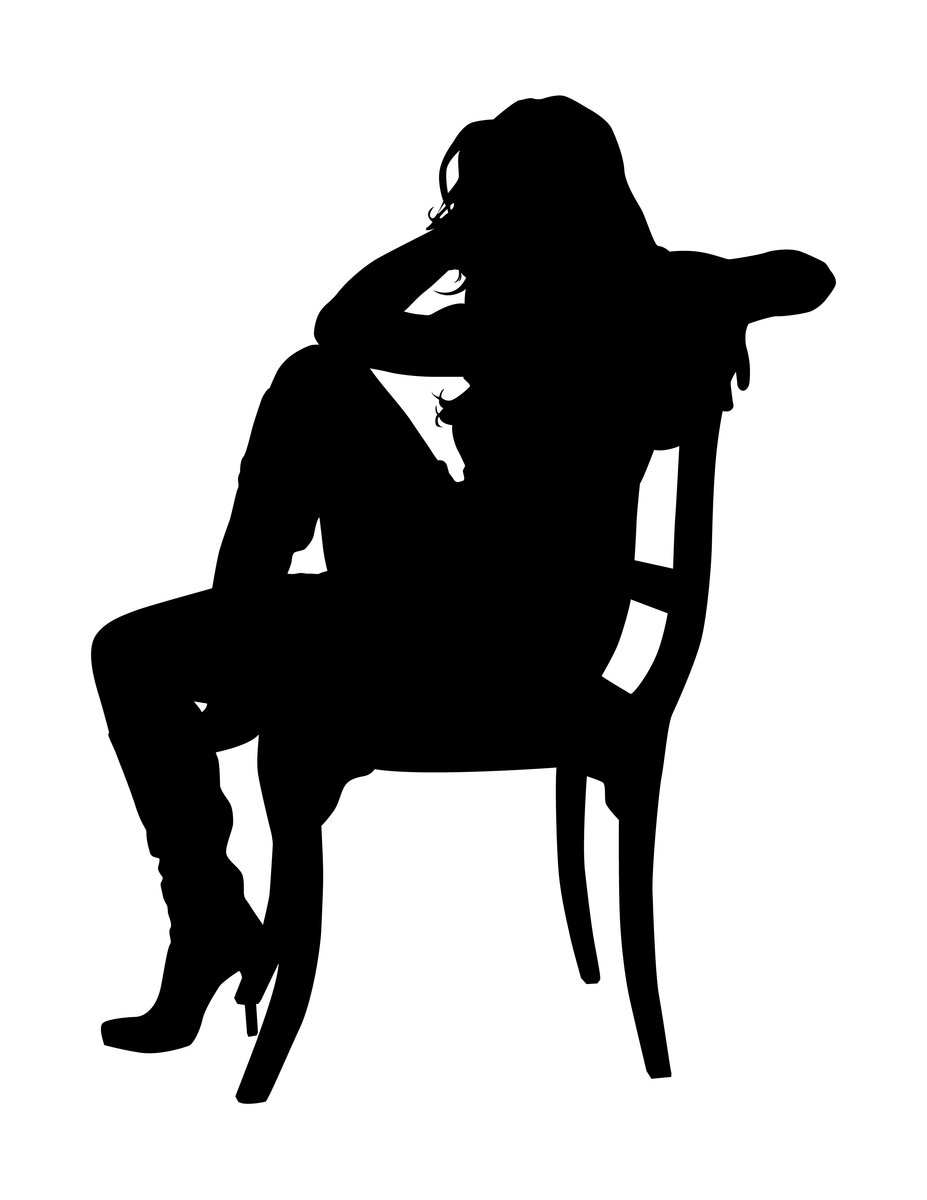 silhouette of person sitting people sitting at table silhouette png hd png sitting of silhouette person