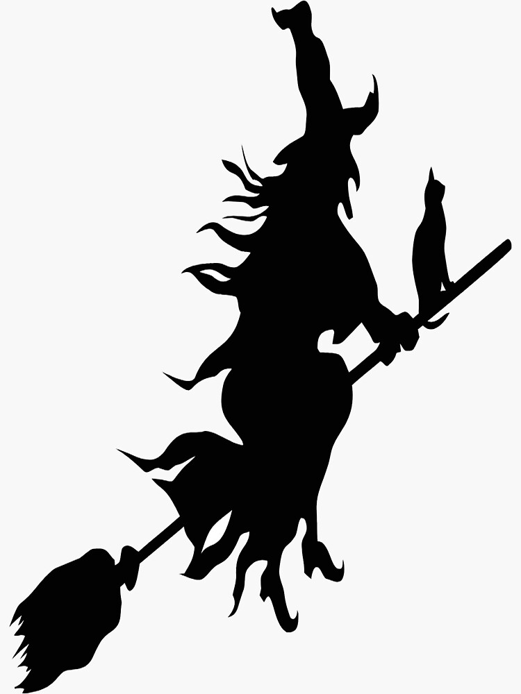 silhouette of witch on broomstick witch om broom clipart 10 free cliparts download images silhouette of witch broomstick on