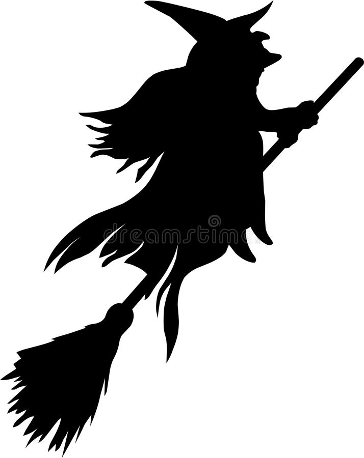 silhouette of witch on broomstick witch on broomstick silhouette at getdrawings free download of witch silhouette broomstick on
