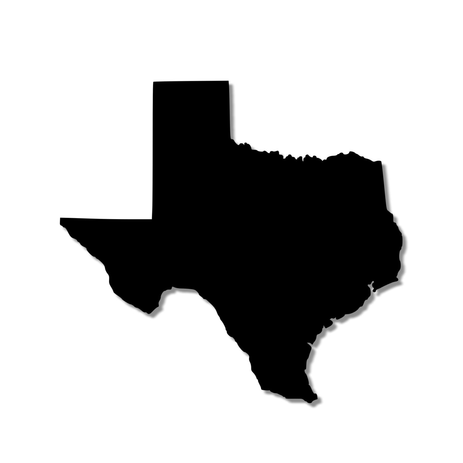 silhouette texas texas decals lone star state silhouette custom decal for texas silhouette