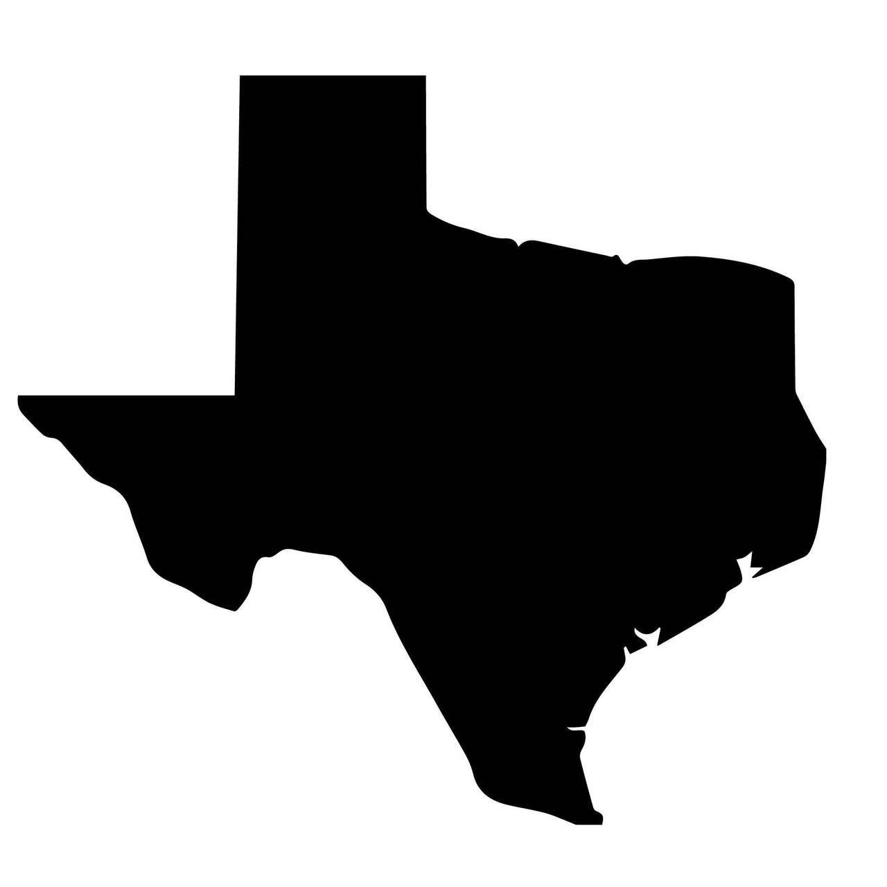 silhouette texas texas silhouette clip art at getdrawings free download texas silhouette