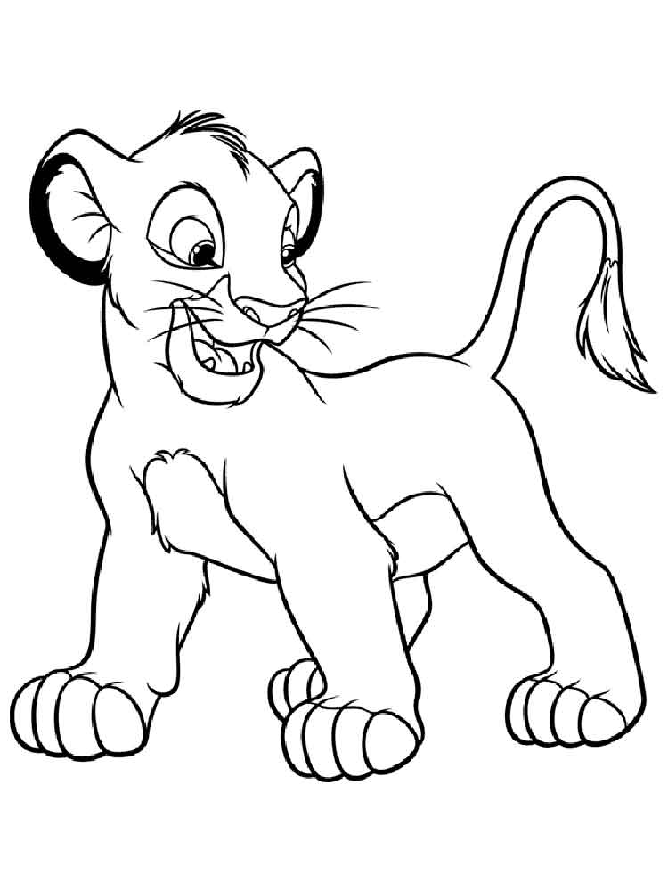 simba printable coloring pages simba coloring pages to download and print for free coloring pages printable simba 1 1