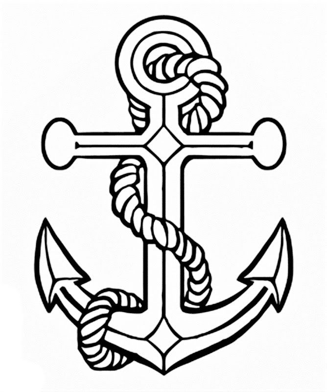 simple anchor drawing anchor clipart line art anchor line art transparent free drawing simple anchor