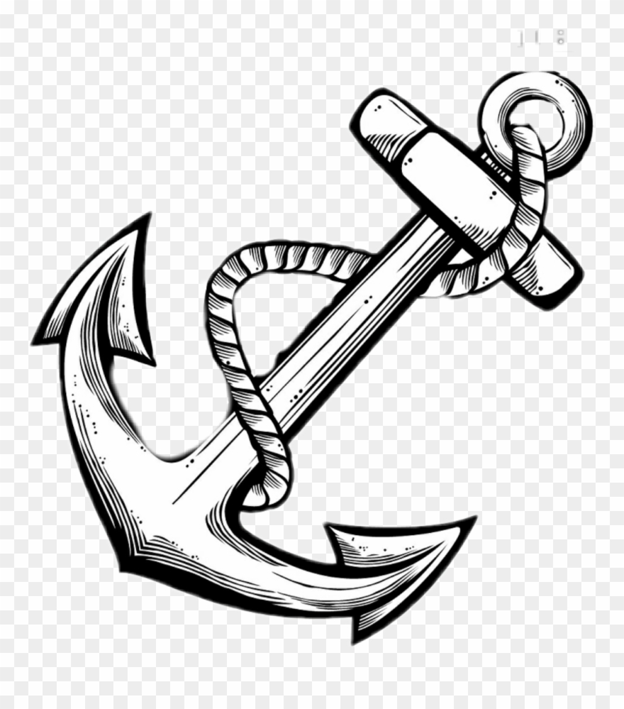 simple anchor drawing anchor coloring page coloring home drawing anchor simple