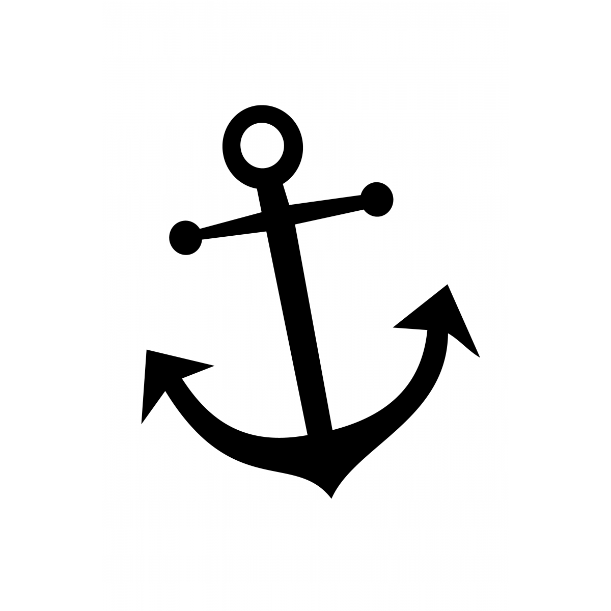 simple anchor drawing anchor line drawing at getdrawings free download simple drawing anchor