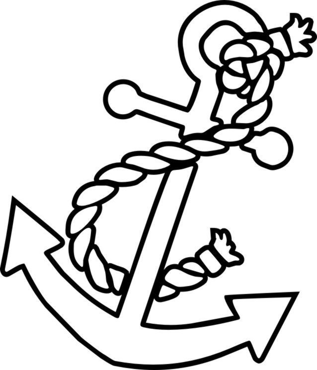 simple anchor drawing the best free anchor drawing images download from 822 simple drawing anchor