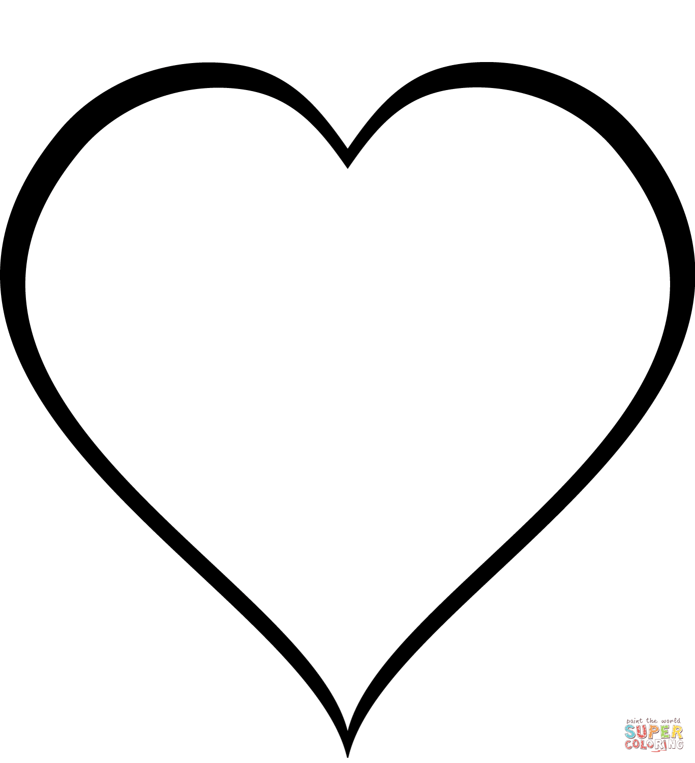 simple heart coloring pages easy heart coloring pages for kids stripe patterns heart coloring simple pages