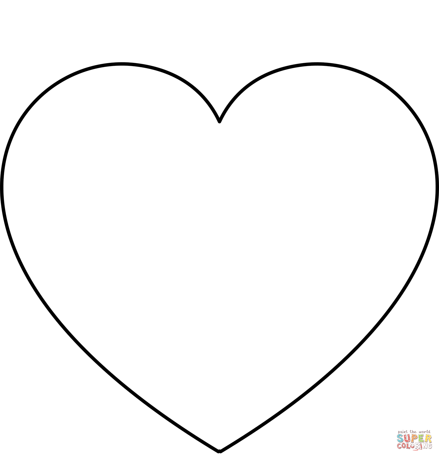 simple heart coloring pages filevalentines day hearts alphabet blank2 at coloring simple coloring heart pages