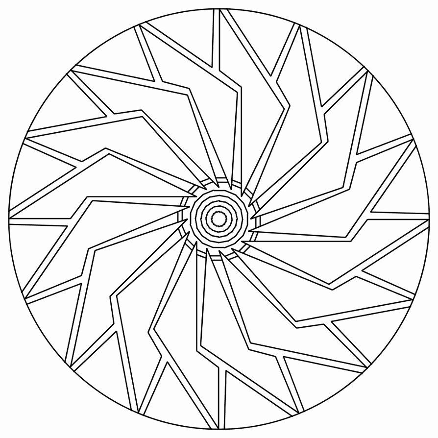 simple mandalas to color don39t eat the paste lattice mandala to color simple mandalas to color