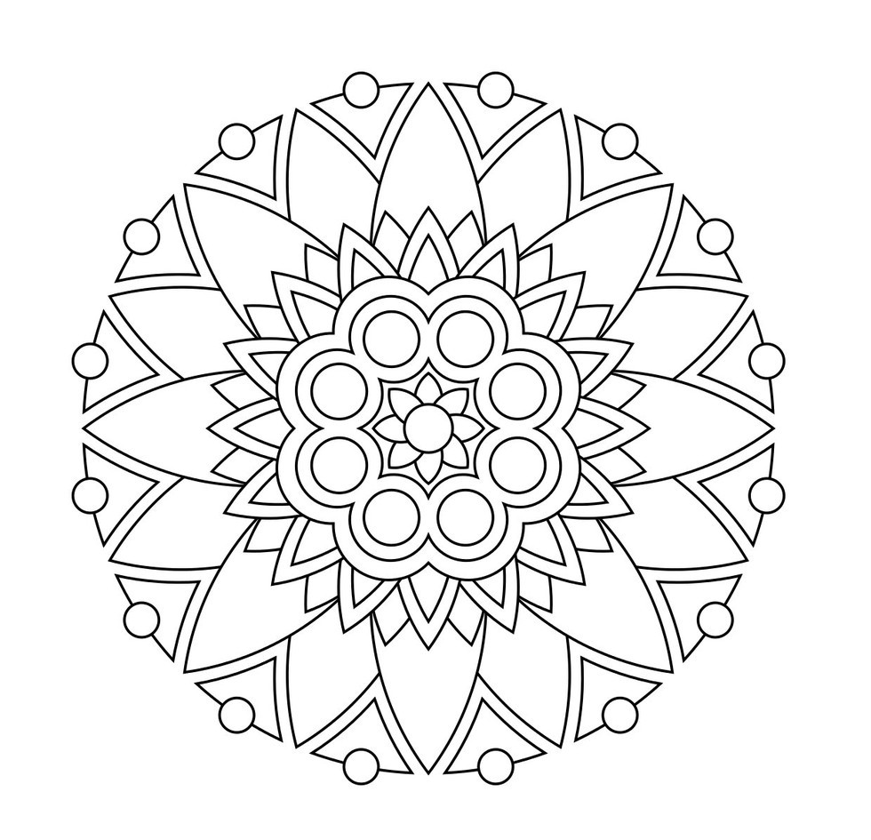 simple mandalas to color easy mandala for child simple mandalas 100 mandalas to color mandalas simple