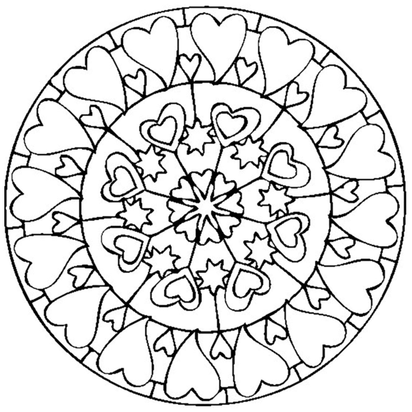 simple mandalas to color simple mandala 14 mandalas coloring pages for kids to mandalas to color simple