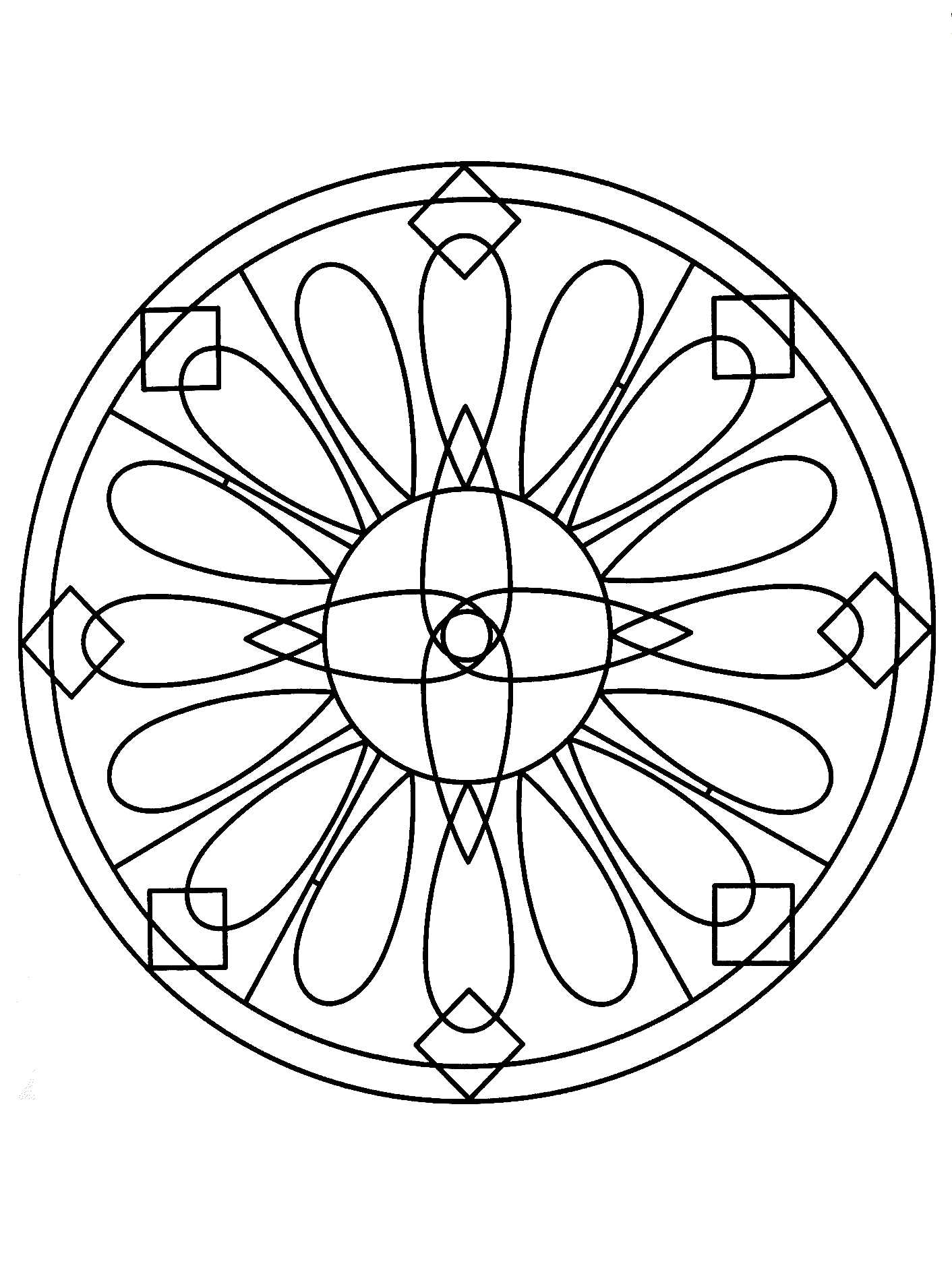 simple mandalas to color simple mandala 72 mandalas coloring pages for kids to simple to color mandalas