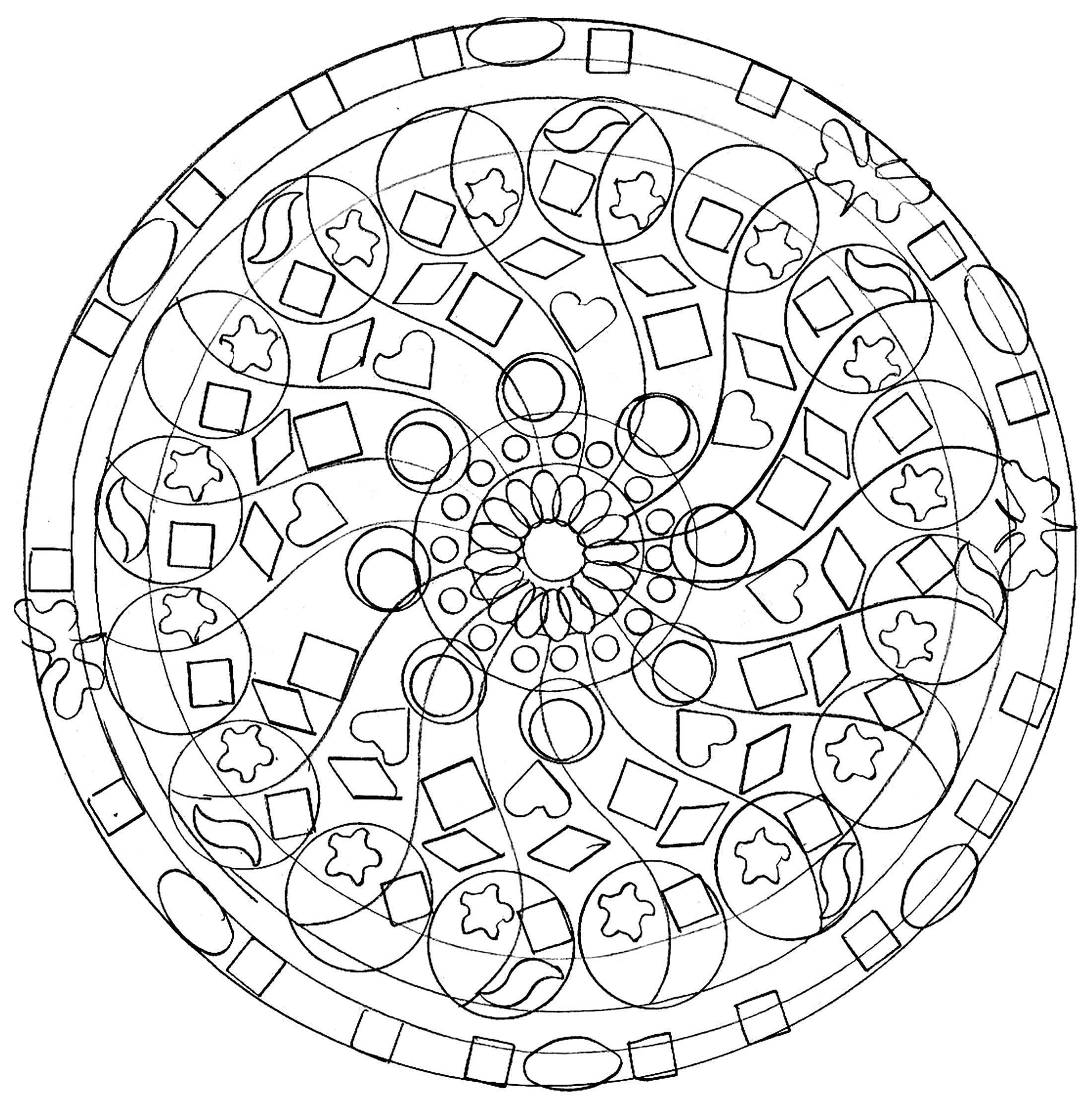 simple mandalas to color simple mandala coloring pages download and print for free mandalas color simple to