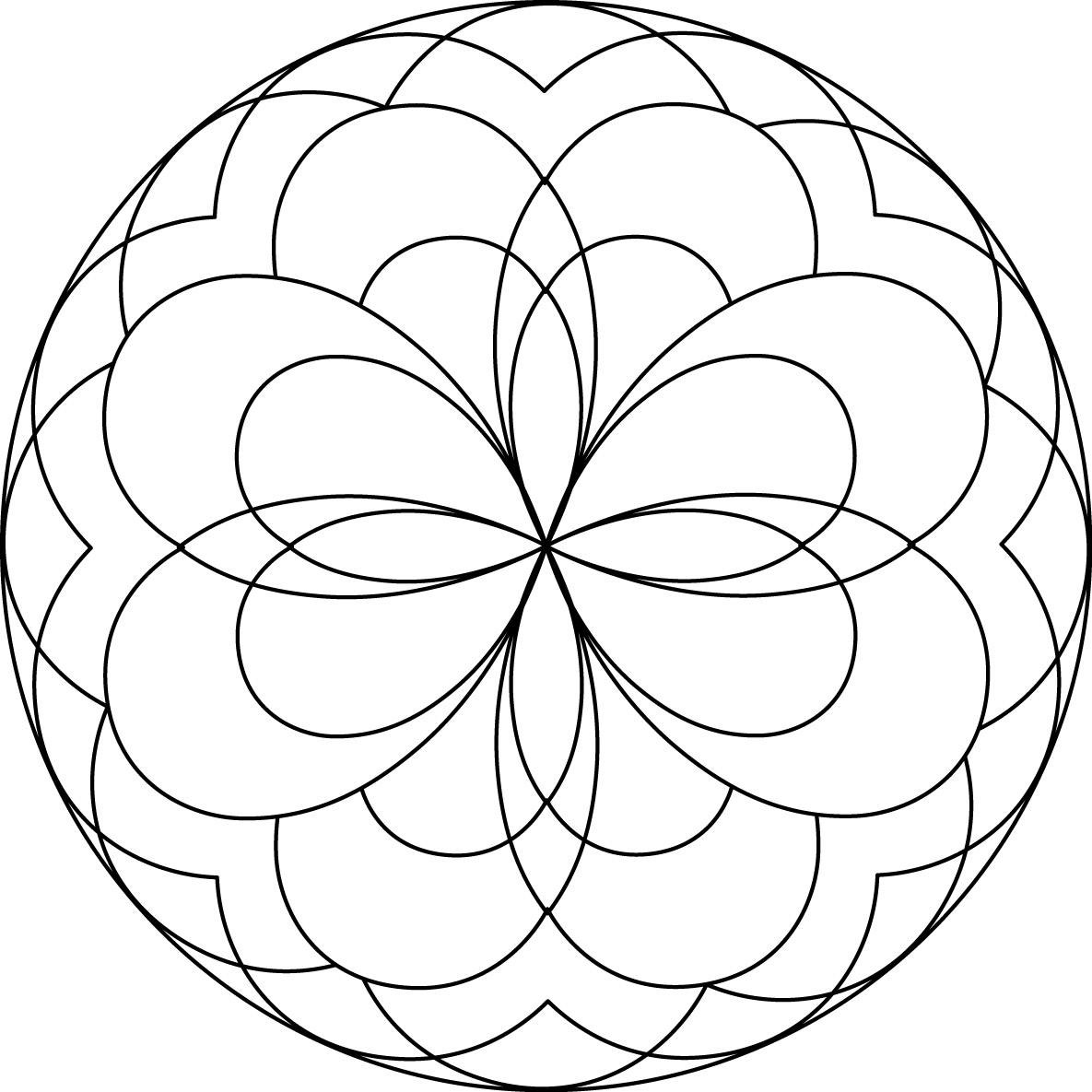 simple mandalas to color simple mandala coloring pages download and print for free simple color mandalas to
