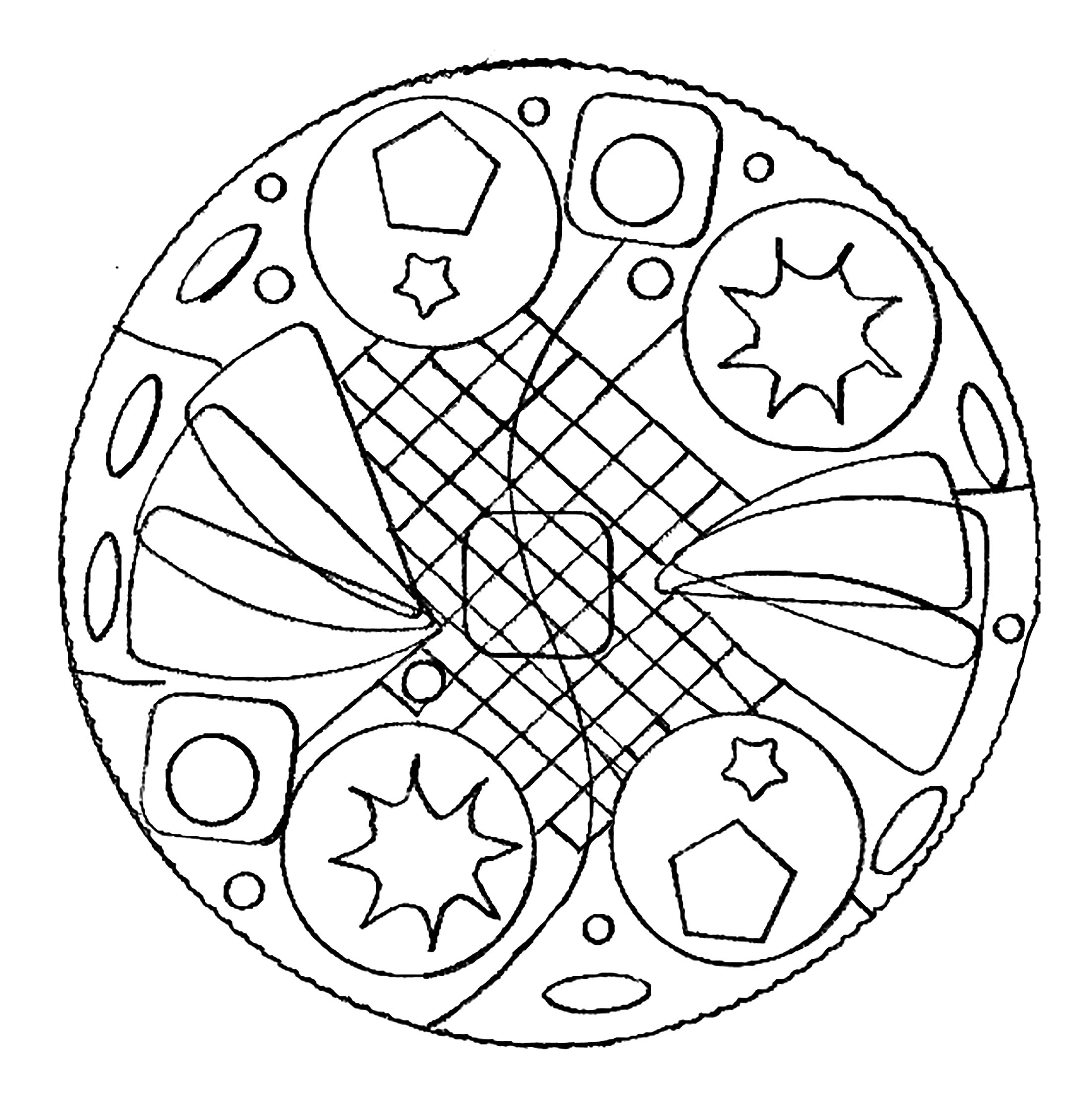 simple mandalas to color unique and simple mandala coloring page zen anti to color simple mandalas