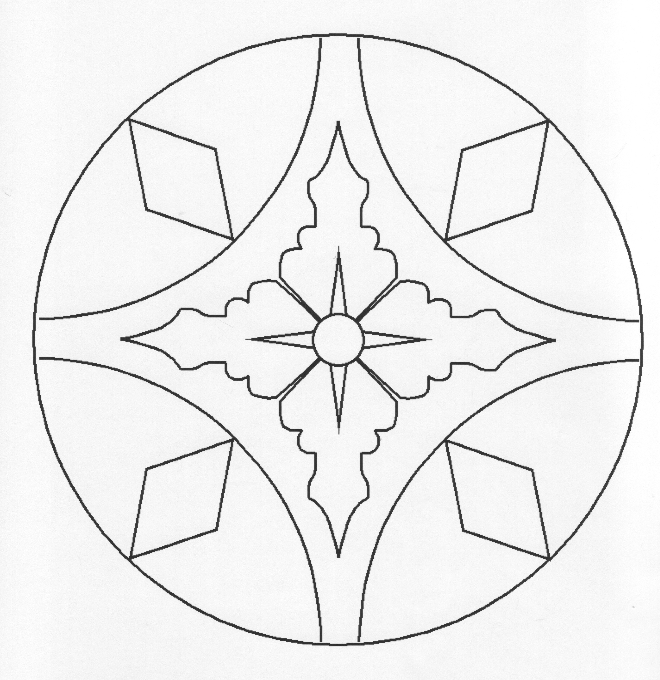 simple patterns to colour free printable geometric coloring pages for kids simple patterns to colour