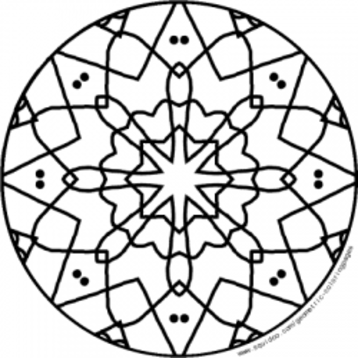 simple patterns to colour geometric coloring pages hubpages colour to simple patterns