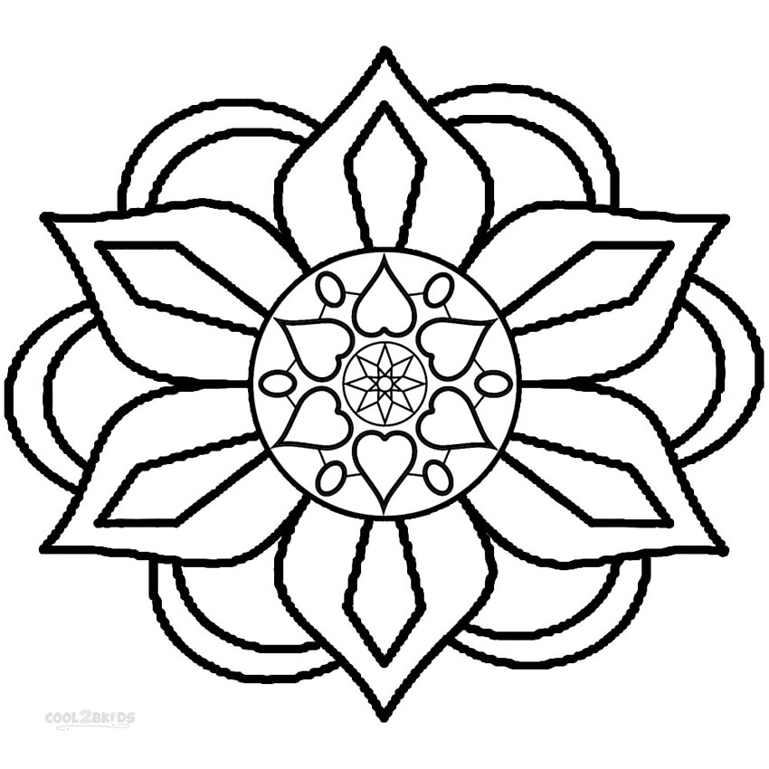 simple patterns to colour lotus pattern coloring page free printable coloring pages colour to patterns simple