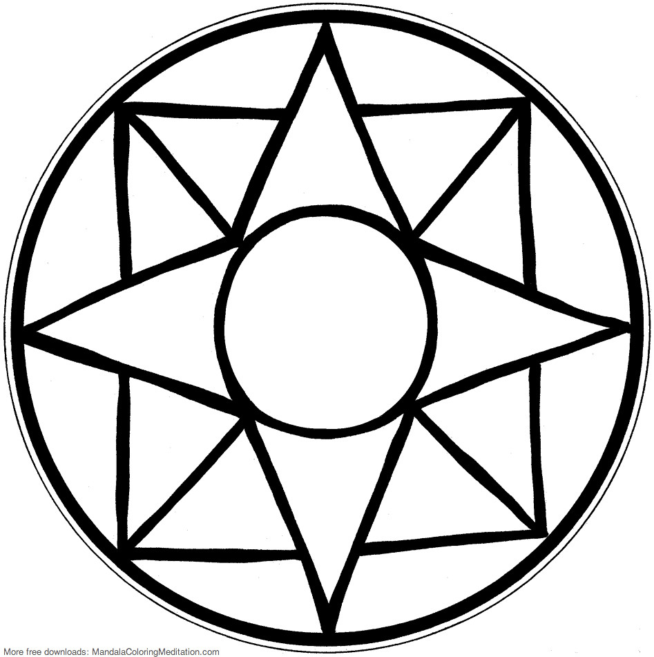 simple patterns to colour printable children coloring page square mandala an to patterns simple colour