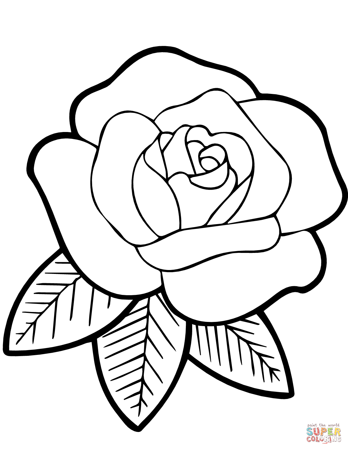 simple rose coloring pages free printable rose and marigold flowers coloring page coloring simple pages rose