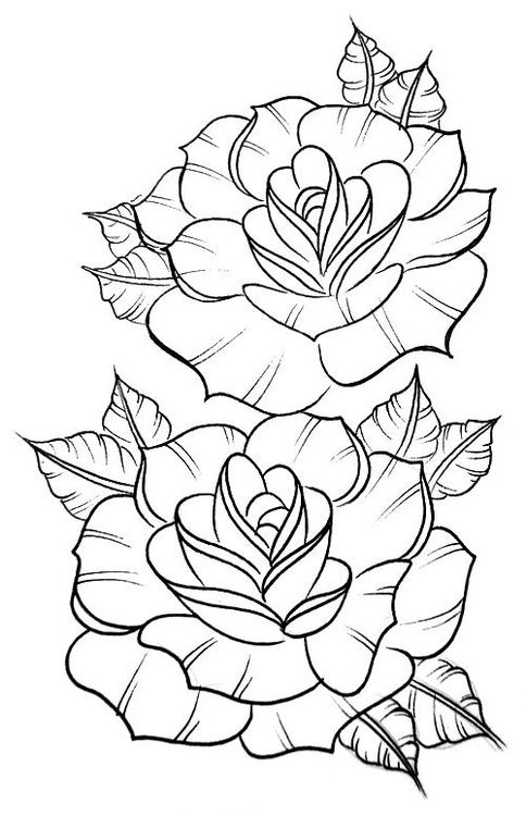 simple rose coloring pages printable rose coloring pages for kids simple pages coloring rose